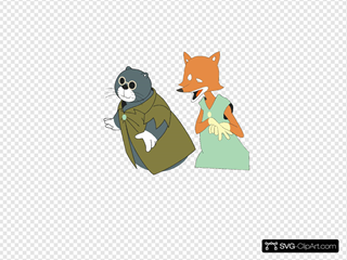 Pinoq Cat And Fox
