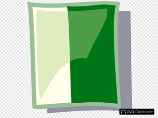 White And Green Icon