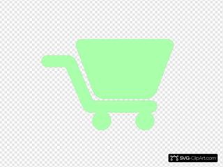 Shopping Cart Green