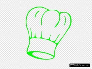 Chef Hat Green