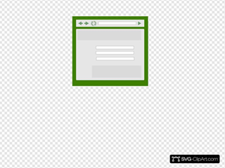 Web Browser With Green Tint