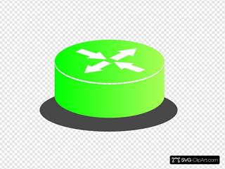 Router 3d Green Grad
