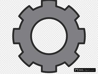 Gear Grey Cog