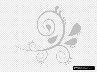 Grey Swirl 2