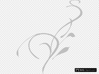 Grey Grass  SVG Cliparts
