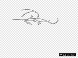 Floral Wallpaper Double Grey Clipart