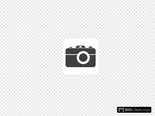 Grey Camera Icon