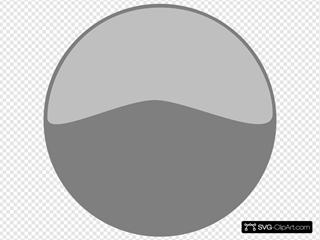 Windows Media Player Sample Grey Button SVG Clipart