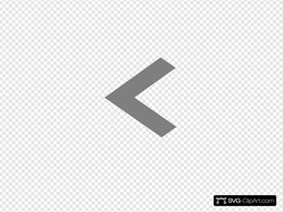 Left Grey Arrow