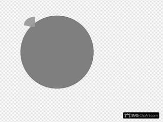 Yellow Circle Icon Clipart