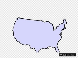 Grey Map Usa