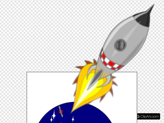My Rocket SVG Clipart