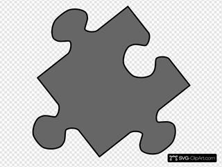 Grey Jigsaw