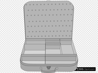 Suitcase SVG Clipart