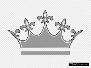 Grey Princess Crown