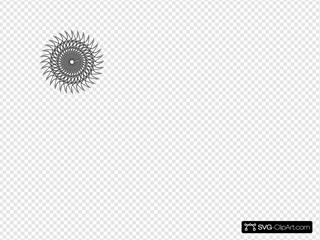 Stencil Sun