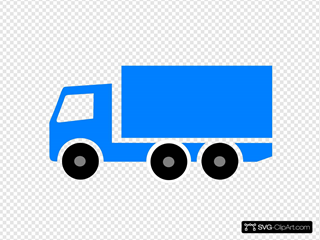Lorry SVG Clipart