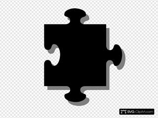 Black Grey Puzzle