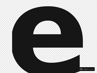 Symbol E Grey