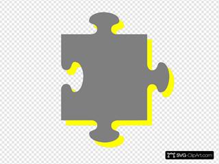 Grey Yellow Puzzle