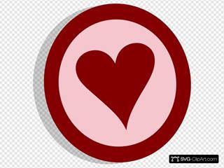 Symbol Heart Vote