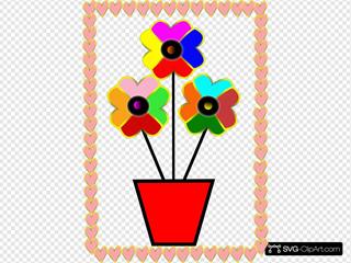 Flowers Hearts