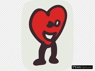 Happy Heart Character