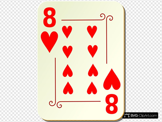 Ornamental Eight Of Hearts