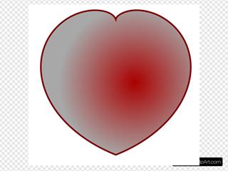 Simple D Heart