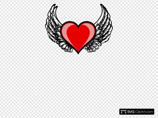 Heart Wing Logo