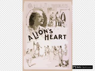 Carl A. Haswin And His Company In A Lion S Heart
