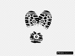 Heart Sole Shoe 6