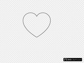 Simpleheart Clipart