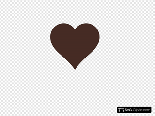 Brown Heart