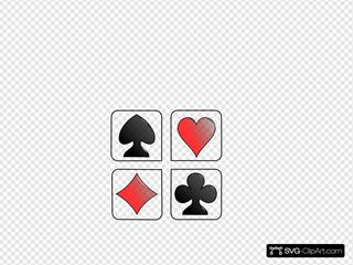 Four Game Symbols