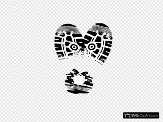Heart Sole Shoe 4