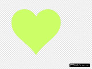 Honeydew Heart