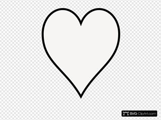 Heart- Outline
