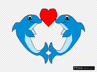 Kissing Dolphins