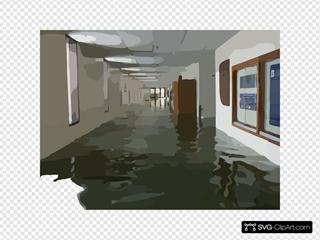 Flood Damage To U.s. Naval Academy.