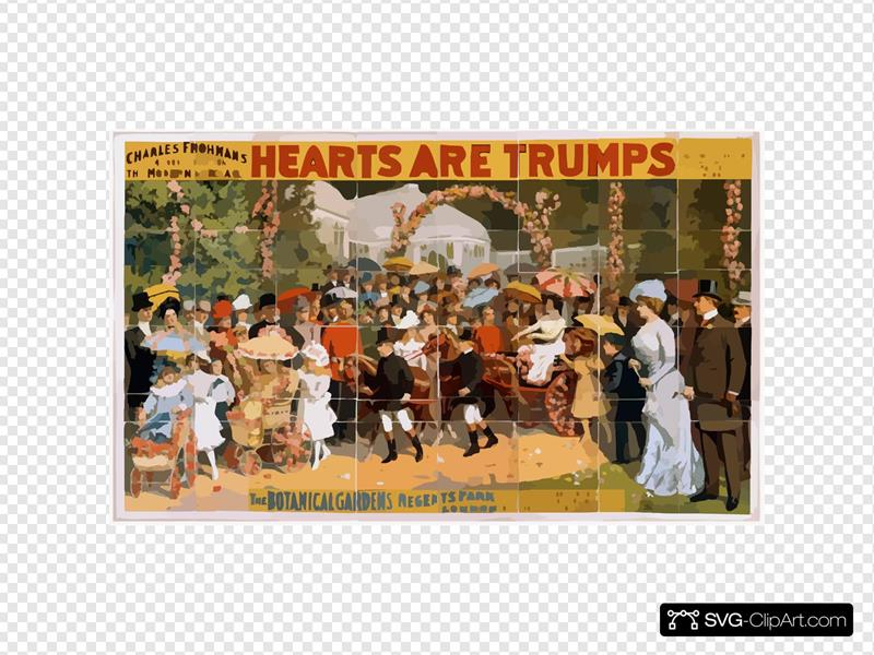 Charles Frohman S $40,000 Production, The Modern Spectacle, Hearts Are Trumps Written By Cecil Raleigh ; Presented As Produced By Arthur Collins At The Theatre Royal, Drury Lane, London.
