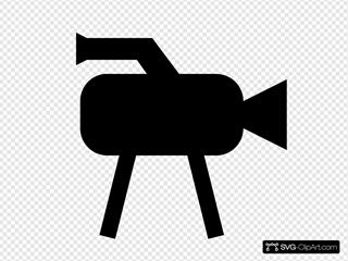 Tv Camera Icon