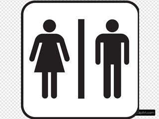 Men Women Bathroom
