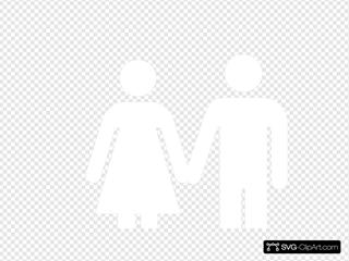 Man And Woman (heterosexual) Icon