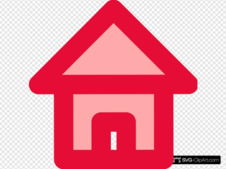 Red Home Icon