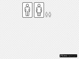 Bathroom Clip art, Icon and SVG - SVG Clipart