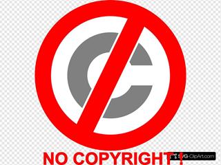 No Copyright Icon