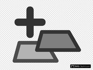 New Tab SVG Clipart