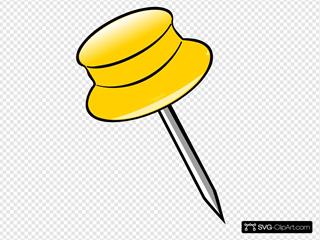 Pin - Yellow