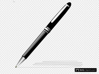 Stylish Pen Clipart